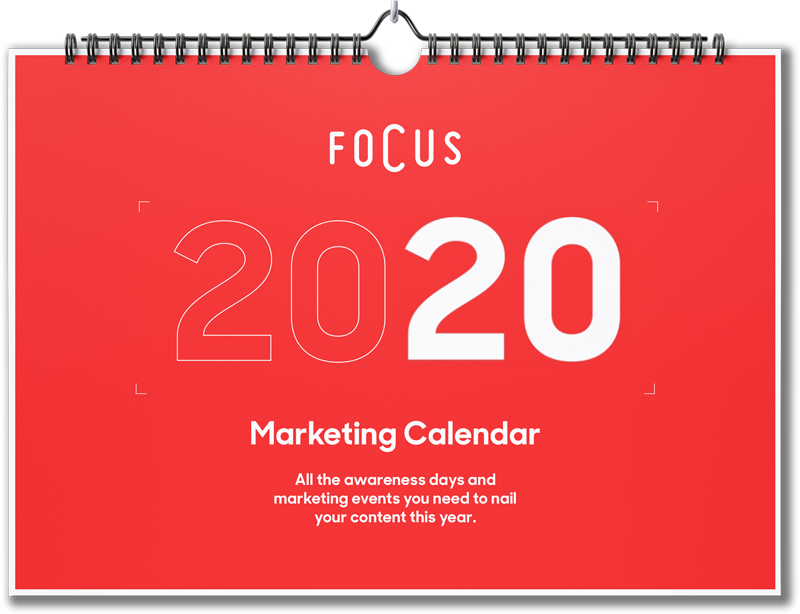 Marketing Calendar 2019